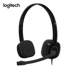 Logitech หูฟัง Stereo Headset H151 (Single Pin)