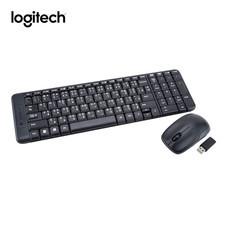 Logitech ชุดคีย์บอร์ดและเมาส์ไร้สาย Wireless Combo MK220