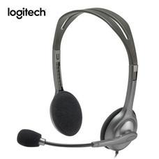Logitech หูฟัง Stereo Headset H111 (Single Pin)