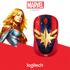 LOGITECH WIRELESS MOUSE M238 MARVEL COLLECTION (CAPTAIN MARVEL)