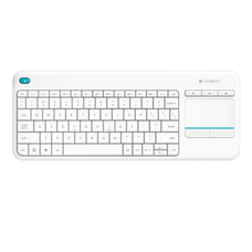 Living Room Keyboard K400 Plus - White
