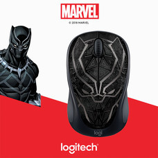 LOGITECH WIRELESS MOUSE M238 MARVEL COLLECTION (BLACK PANTHER)