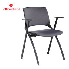 Officeintrend เก้าอี้ Lecture รุ่น SMART Lecture with Cushion - Black/Grey