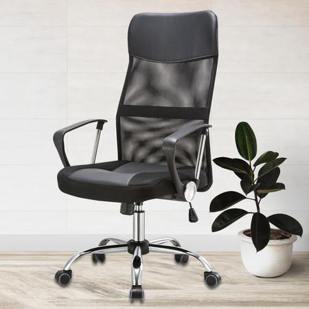 Officeintrend เก้าอี้ผู้บริหาร พนักพิงตาข่าย หลังสูง รุ่น HIVE - สีดำ