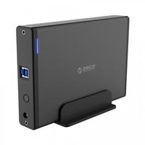"ORICO 7688U3 3.5"" External Harddrive Enclosure โอริโก้ กล่องอ่าน HDD 3.5"" แบบ USB3.0-Black"