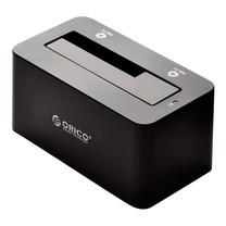แท่นเสียบสำหรับอ่านข้อมูลบน Harddisk ORICO Docking 6619US3-USB 3.0 1 ช่อง - สีดำ