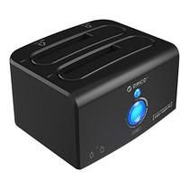 """ด๊อกกิ้งORICO รุ่น 8628SUS3-C สำหรับ HDD/SSD 2.5"""" หรือ 3.5"""" 2 ช่อง USB 3.0+eSATA+Clone - สีดำ"""