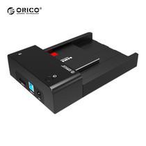 """ด๊อกกิ้งORICO รุ่น 6518SUS3 สำหรับ HDD/SSD 2.5"""" หรือ 3.5"""" 1 ช่อง USB 3.0+eSATA - สีดำ"""