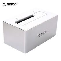 แท่นเสียบสำหรับอ่านข้อมูลบน Harddisk แบบอลูมิเนียม ORICO Docking 6818US3 USB 3.0 1 ช่อง - สีเงิน