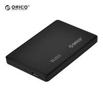 """กล่องอ่านฮาร์ดดิสก์ 2.5"""" ORICO Enclosure 2588US3-BK USB 3.0-สีดำ"""