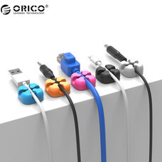 ORICO CBSX-5 Desktop Cross-shaped Silicone Cable Clip 5 Pcs