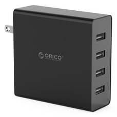 ORICO DCW-4U 4 Port USB Wall Charger-Black