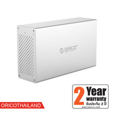 ORICO WS200U3 Honeycomb Series 3.5 inch 2 Bay Aluminum Alloy USB3.0 Hard Drive Enclosure
