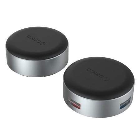 ORICO ANS1 3 Ports USB HUB-Silver