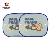 paul frank ม่านบังแดดด้านข้างกระจกรถยนต์ Julius Happy - Navy Blue