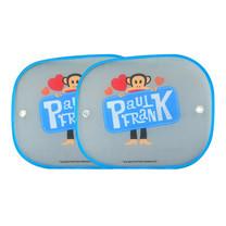 paul frank ม่านบังแดดด้านข้างกระจกรถยนต์ Julius Happy - Blue