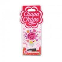 Chupa Chups น้ำหอมปรับอากาศช่องแอร์ (กลม) กลิ่น Strawberry Cream