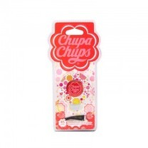 Chupa Chups น้ำหอมปรับอากาศช่องแอร์ (กลม) กลิ่น Cherry
