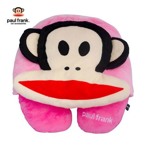 Paul Frank หมอนรองคอมีหมวก - สีชมพู