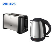 Philips Perfect Tea Time Gift Set (เครื่องปิ้งขนมปัง HD4825+ กาต้มน้ำร้อน HD9306)