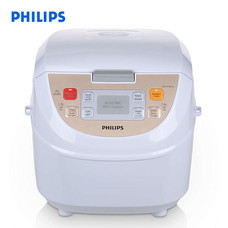 Philips หม้อหุงข้าวดิจิตอล รุ่น HD3130 ความจุ 1.8 ลิตร - สีขาว