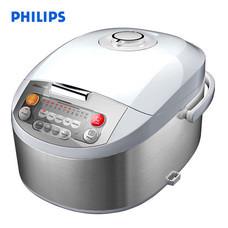 Philips หม้อหุงข้าวดิจิตอล รุ่น HD3038 ขนาด 1.8 ลิตร - สีเงิน