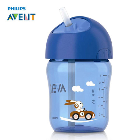 ฟิลิปส์เอเวนท์ ถ้วยหัดดื่มแบบหลอด ขนาด 260 มิลลิลิตร สำหรับเด็ก 12 เดือนขึ้นไป (คละสี) รุ่น SCF760-00