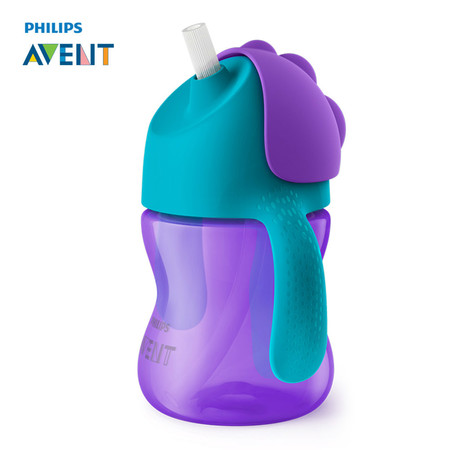 ฟิลิปส์เอเวนท์ ถ้วยหัดดื่มแบบหลอด ขนาด 200 มิลลิลิตร สำหรับเด็ก 9 เดือนขึ้นไป (คละสี) รุ่น SCF796-00