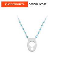 Plantronics Glissy Bluetooth Lanyard Crystal สายคล้องหูฟังบลูทูธ - Blue/White