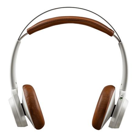 Plantronic BackBeat Sense - White-Tan แถมฟรี หูฟัง TDK ST80KD Kids Headphones Pink/White