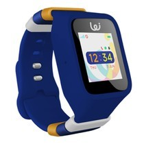 Pomo Waffle Watch 3G นาฬิกาอัจฉริยะสำหรับเด็ก - Blue (แถมฟรี! ชุดสายรัด Rilakkuma)
