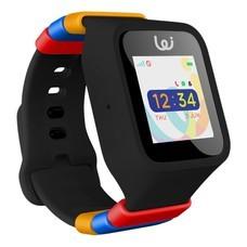 Pomo Waffle Watch 3G นาฬิกาอัจฉริยะสำหรับเด็ก - Black (แถมฟรี! ชุดสายรัด Rilakkuma)