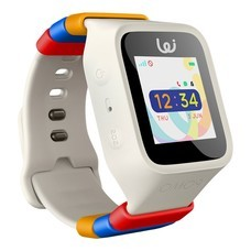 Pomo Waffle Watch 3G นาฬิกาอัจฉริยะสำหรับเด็ก - White (แถมฟรี! ชุดสายรัด Rilakkuma)