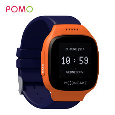 Pomo Mooncake Smart Watch 3G นาฬิกาอัจฉริยะสำหรับเด็ก - Dark Blue/Orange