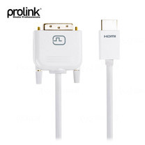 Prolink HDMI Type A Plug to DVI-D Plug (Single link 18+1) - 2m (MP269)