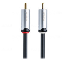 Prolink 2x RCA plugs to 2 x RCA plugs Cable - 5m(HMC101-0500)
