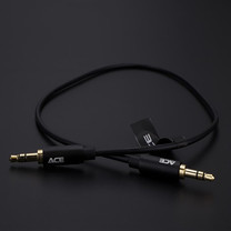 ACE 100101  3.5 mm stereo-Black