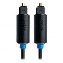 Prolink Toslink Plug Optical Cable - 1.5m (PB111-0150)