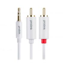 Prolink 3.5mm ST Plug to 2 x RCA Plugs Audio - 2m (MP147)