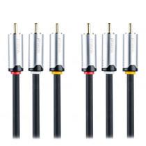 Prolink 3 x RCA to 3 x RCA Composite plugs Cable - 5m (HMC231-0500)