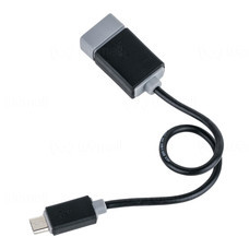 Prolink USB-Micro B Plug to USB Type A Socket OTG Cable - 0.15m (PB491-0015)