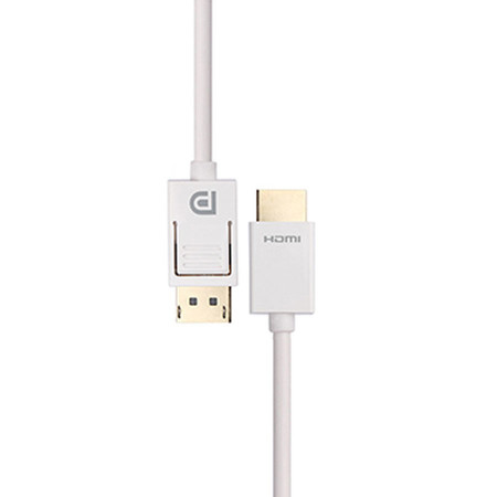 PROLINK MP306 DP Plug > HDMI A Plug-White