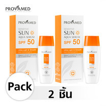PROVAMED SENSITIVE SUN AQUA SERUM SPF50 40 ml PACK 2