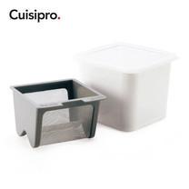 Cuisipro กล่องทำโยเกิร์ตชีส - White