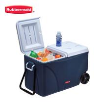Rubbermaid คูลเลอร์มีล้อ DuraChill Wheeled Cooler (75 ควอร์ต/71 ลิตร) - สีน้ำเงิน