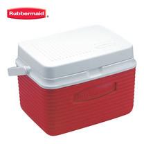 Rubbermaid คูลเลอร์ Victory Cooler (5 ควอร์ต/4.7 ลิตร) - สีแดง