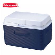 Rubbermaid คูลเลอร์ Victory Cooler (34 ควอร์ต/32.1 ลิตร) - สีน้ำเงิน