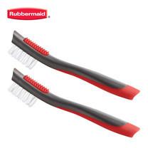 Rubbermaid แปรงขัดเล็ก 2 ชิ้น Detail Brush - สีแดง/เทา