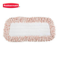 Rubbermaid อะไหล่ผ้าไมโครไฟเบอร์เช็ดฝุ่น Flexible Sweeper Refill Pad (สำหรับ ไม้เช็ดฝุ่นด้ามปรับงอได้) - สีขาว