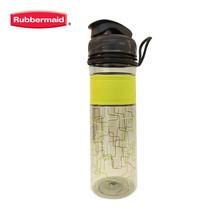 Rubbermaid ขวดน้ำ Design Series Bottle Squiggle Lime 600 มล. - สีเขียว